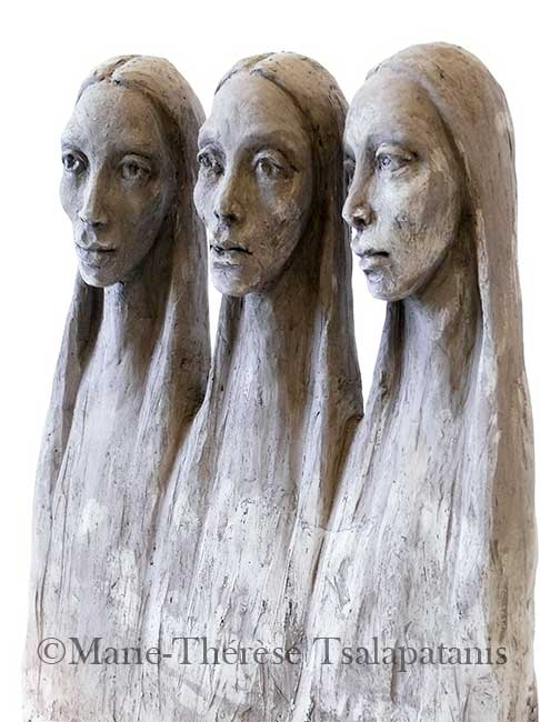 sculpture-marie-therese-tsalapatanis-Carmelites