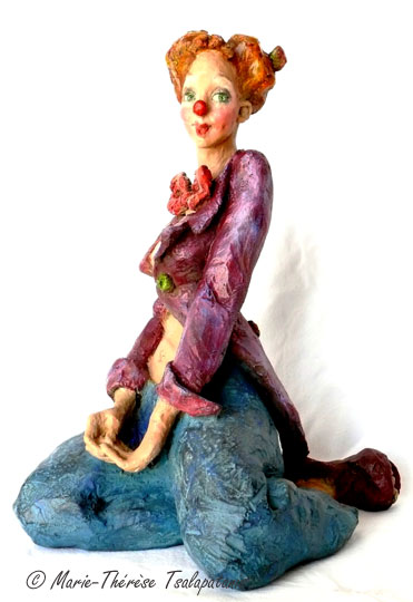 sculpture-marie-therese-tsalapatanis-clown-timide