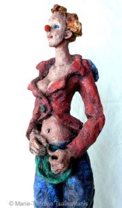 sculpture-marie-therese-tsalapatanis-clowne-ado