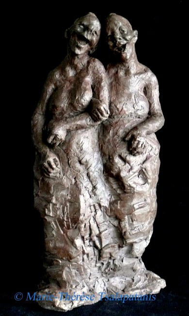 sculpture-marie-therese-tsalapatanis-commères