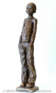 sculpture-marie-therese-tsalapatanis-gamin2017