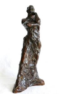 sculpture-marie-therese-tsalapatanis-penseur-debout