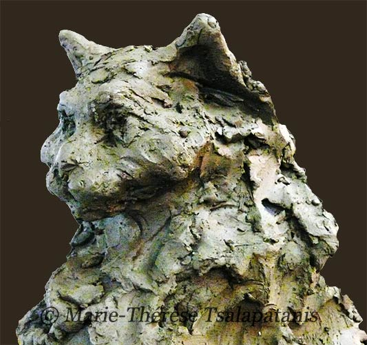 sculpture-marie-therese-tsalapatanis-chat8