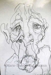 dessins-sculpture-marie-therese-tsalapatanis-brut