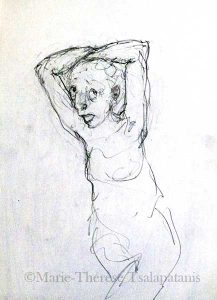 dessins-sculpture-marie-therese-tsalapatanis-Eve