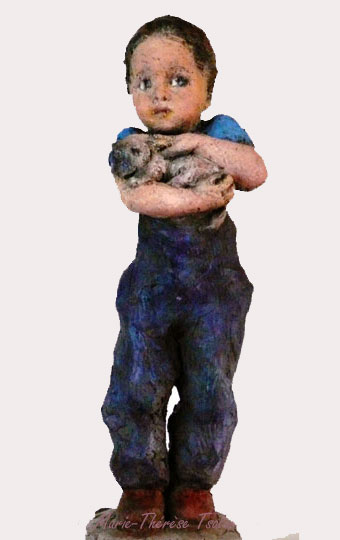 sculpture-marie-therese-tsalapatanis-enfant-au-chat-1