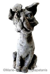 sculpture-marie-therese-tsalapatanis-Pilou