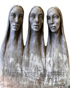sculpture-marie-therese-tsalapatanis-Carmel-(2)