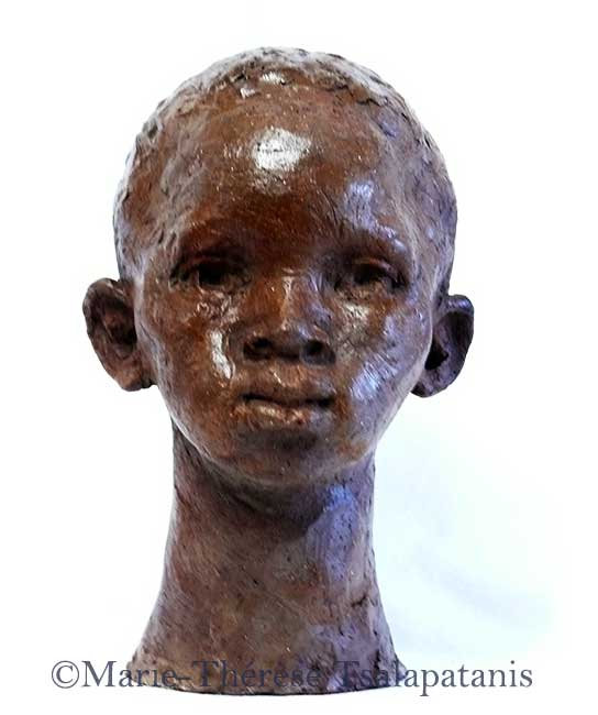 sculpture-marie-therese-tsalapatanis-enfant-afric