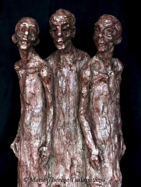 sculpture-marie-therese-tsalapatanis-retour1