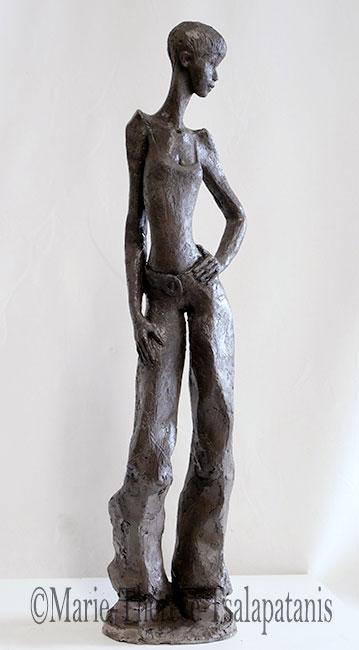 sculpture-marie-therese-tsalapatanis-la-garçonne